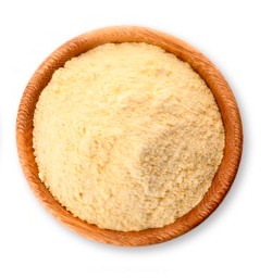 Cooked chickpea flour