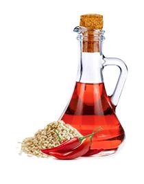 Aceite de ajonjolí picante