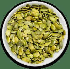 Pepita y semilla de calabaza