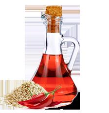 Aceite de ajonjolí picante Inés